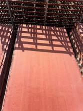 红色15mm厚玻镁防火板生产厂家_专供活动房防火板图片