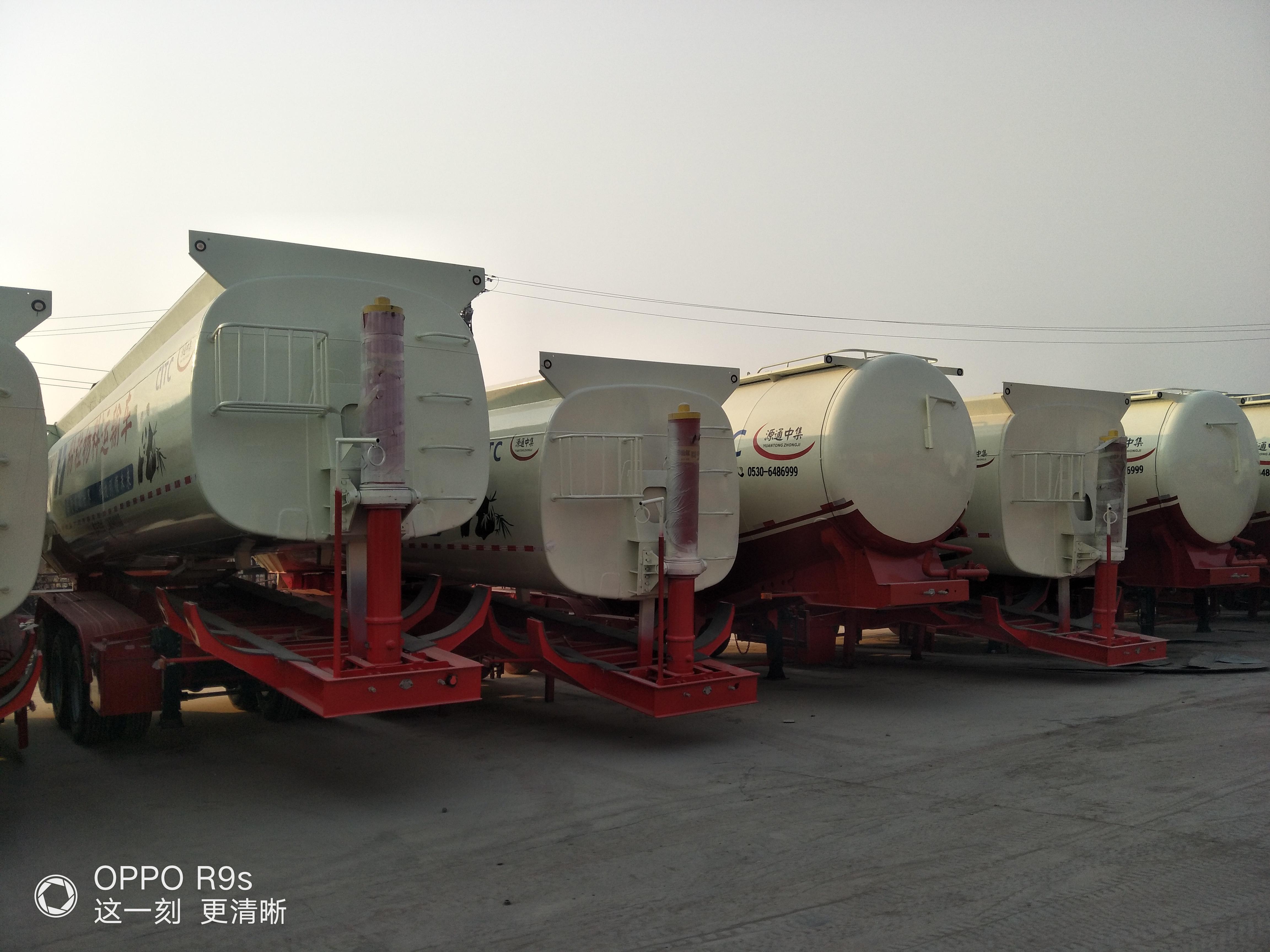 超轻型38---71立方散装水泥罐厂家定做