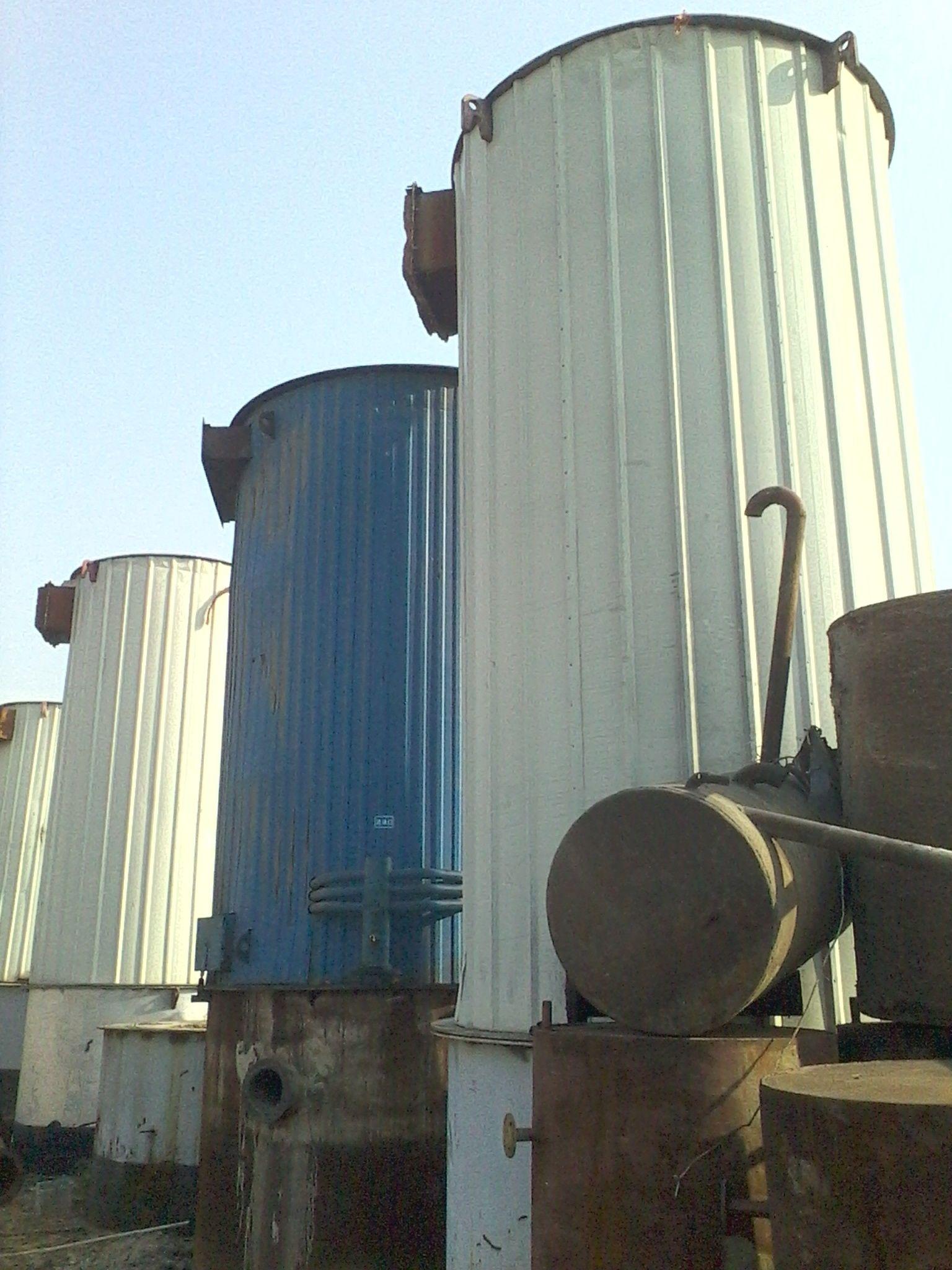 出售二手锅炉120万大卡燃煤卧式导热油炉8台