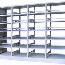河北钢制书架厂家定做学校图书架厂家批发价格图片