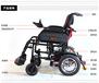 威之群最新款电动轮椅1023轻便可折叠老年残疾人四轮代步车
