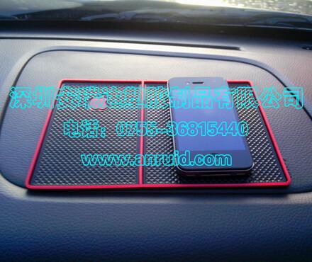 修店广告用车载防滑垫,手机防滑垫,可印LOGO及广告语_汽车防滑高清图片