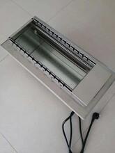 電熱自動燒烤機,兩側加熱無煙燒烤爐,電熱燒烤爐,生產批發圖片