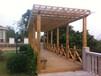 碳化木花架碳化木家具厂家