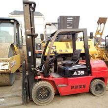 转让3吨杭州二手叉车在工地干活,,接手即可干活,有意者联系