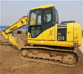 转让2009年小松200220-7进口二手挖掘机保养到位