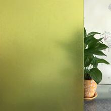 彩色玻璃膜防晒遮阳窗户贴膜PET加厚自粘窗贴