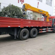 程力陕汽12吨随车吊,三门峡12吨随车吊价格操作简单图片