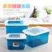 食品级全新PP塑料米箱简约时尚翻盖塑料米箱厨房收纳塑料米箱