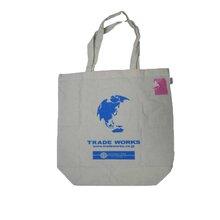 时尚手提全棉袋广告拉链包购物袋环保袋加工厂专业订制