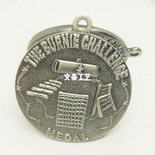 生产锌合金古锡奖牌,定做古银奖章,深圳专业制作奖牌厂家图片
