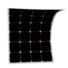 直售sunpower柔性太阳能电池板100W太阳能电池板太阳能滴胶板图片