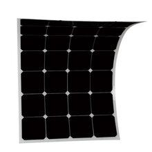 直售sunpower柔性太陽能電池板100W太陽能電池板太陽能滴膠板圖片