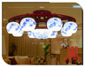 景德镇陶瓷吊灯灯具陶瓷吸顶灯家居装饰酒店照明灯具生产厂家