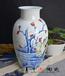 高檔禮品手繪陶瓷花瓶景德鎮陶瓷花瓶定制禮品
