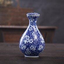 千火陶瓷厂供应陶瓷酒瓶酒瓶定做可加字加图案