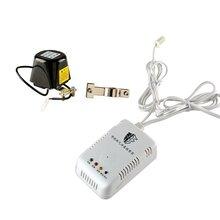 科王家用智能燃气泄漏报警器连接管道燃气机械手图片
