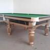 长清台球桌供应,力步中式台球桌豪华版T-103,免费上门安装