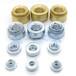 S壓鉚螺母切削鐵鉚螺母S-M8-1五金鍍鋅薄板壓鉚螺絲