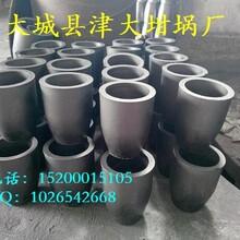 熔鋁石墨坩堝廠家//鋁合金冶煉鉗鍋圖片