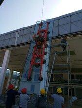 乘龙汽车展厅19毫米吊挂钢化玻璃厂家图片