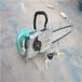 使用方便的220V電動金剛石鏈鋸水泥管道開槽金剛石鏈鋸