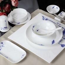消毒餐具4件套陶瓷消毒餐具生产厂家