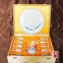 景德镇优质陶瓷礼品自动酒具定制批发