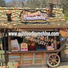 广州市时歌家具SG广州商场售货花车特色售货亭厂家