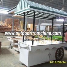 厂家供应—雪糕冰激凌售货亭水果果汁售卖亭设计定做