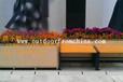 餐厅隔离花箱装饰绿化实木花架