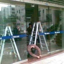 上海玻璃门维修自动玻璃门缓冲器失灵维修闭门器/开门器图片