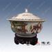 百子图陶瓷大缸,百子图花瓶,手绘大缸生产厂家