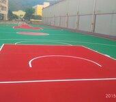 清远球场地坪施工新型弹性球场施工清远球场翻新