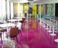 珠海商业地板漆店铺餐厅地板漆选择环保优质环氧地坪漆
