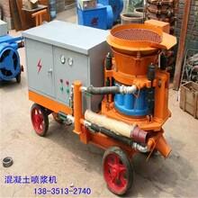 混凝土噴射機山東礦用噴漿機混凝土濕式噴漿機