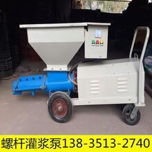 貴州貴陽螺桿式水泥灌漿泵二次灌漿泵細石泵