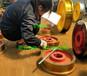 單梁行吊車輪組軌道平車車輪組400單邊車輪組