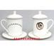 酒店专用陶瓷茶杯定制厂家
