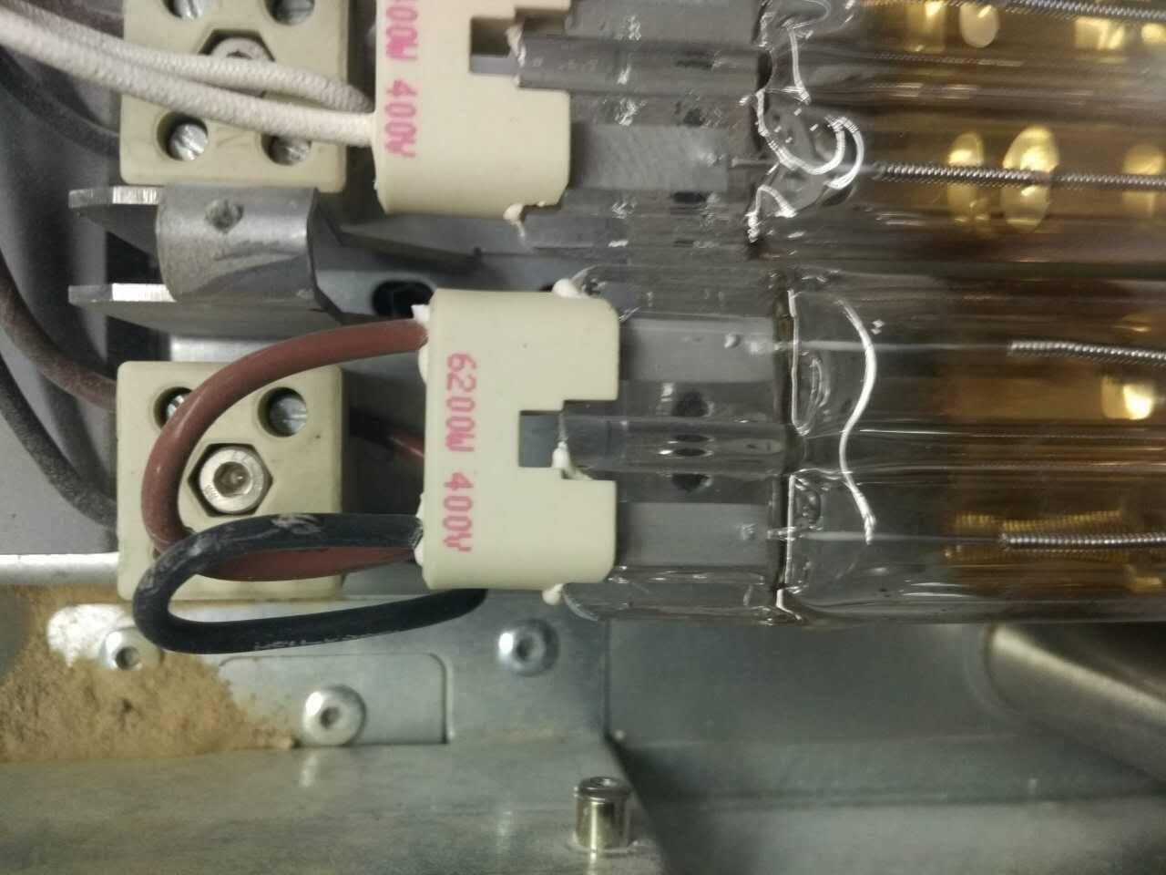 进口IR红外线双排镀金灯管(海德堡)