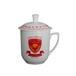陶瓷茶杯陶瓷办公杯礼品茶杯定制