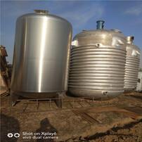 二手不锈钢储罐,二手外盘管反应釜,二手反应釜图片