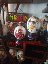 北京房山华旺鸵鸟养殖场鸵鸟苗价格鸵鸟蛋雕刻图片
