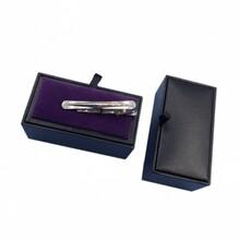 礼品包装盒厂家定制男士领带夹盒子图片