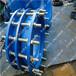 厂家销售可拆卸式双法兰传力接头压盖式限位伸缩接头规格碳钢环保耐用