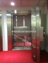 深圳銀行防水金庫門價格多少,珠寶商金庫門