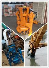 QSY新式液压重载砂浆泵、挖机液压砂浆泵专业厂家图片