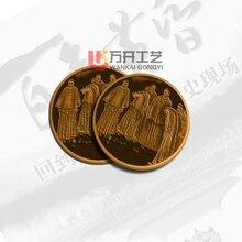 戊戌变法纪念币制作狗年生肖纪念章深圳厂家免费设计包邮图片