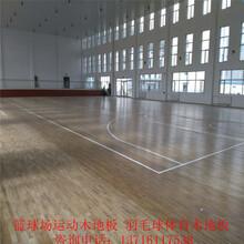 运动场体育实木运动地板厂家室内篮球体育木地板安装价格图片