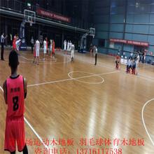枫木篮球木地板厂家体育木地板_篮球运动木地板价格_实木篮球地板施工图片